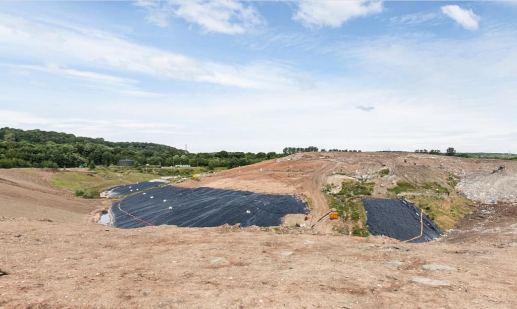 Landfill height